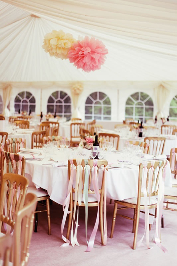 simple-pom-pom-wedding-decor