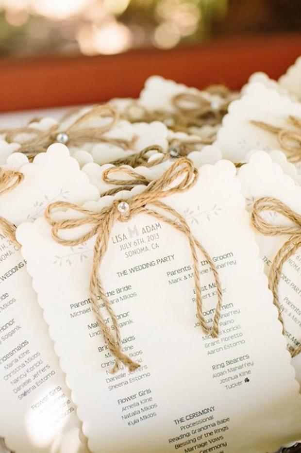 twine-bow-diamante-wedding-ceremony-booklet