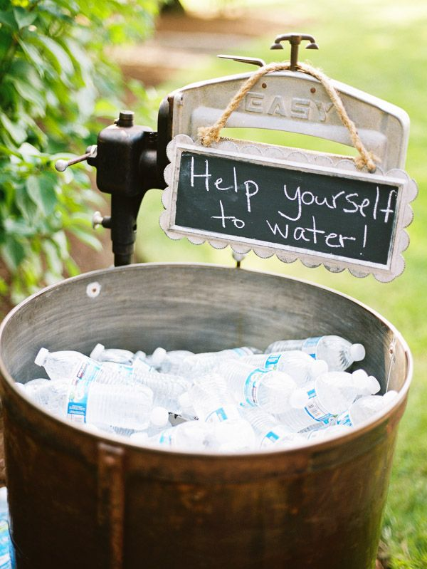 11 Great Ideas For Your Drinks Reception Weddingsonline