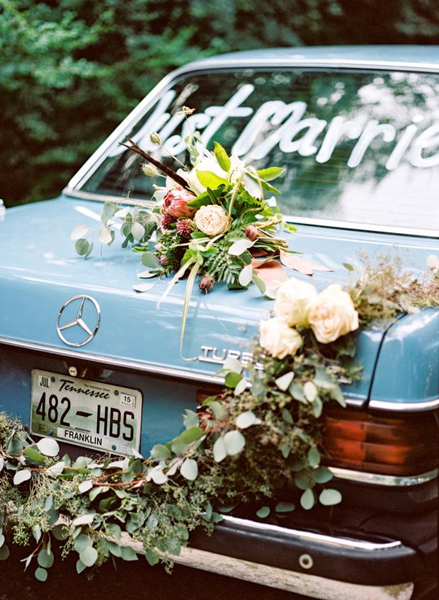 wedding-getaway-car-just-married