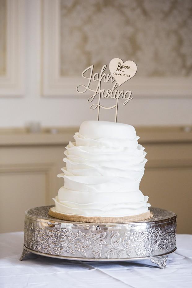 white-ruffle-tier-cake-deborahs-wedding-cakes-ireland