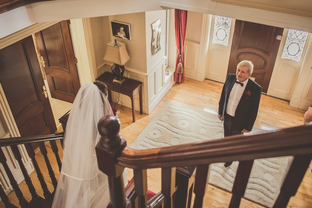 19-First-Look-Father-Bride-Stairs-Emma-Russell-Photography-weddingsonline (2)