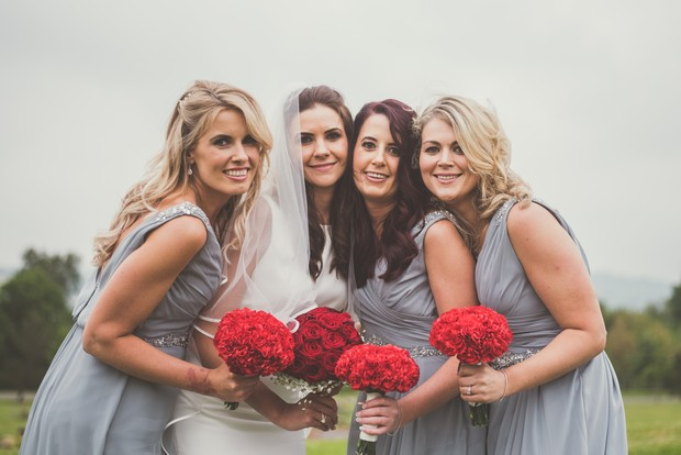 28-red-grey-wedding-theme-bridesmaid-dresses-roses-weddingsonline (2)