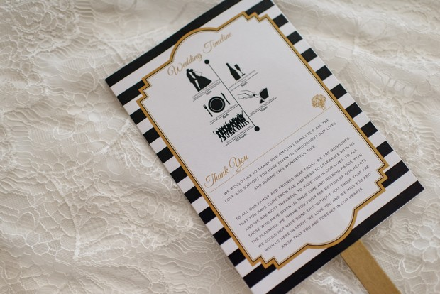 6-Black-White-Art-Deco-Wedding-Program-Fan-weddingsonline