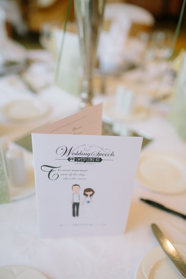 Personalised-Wedding-Speech-Sweepstake-Card