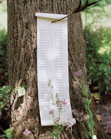 alternative-table-plan-forest-wedding-scroll