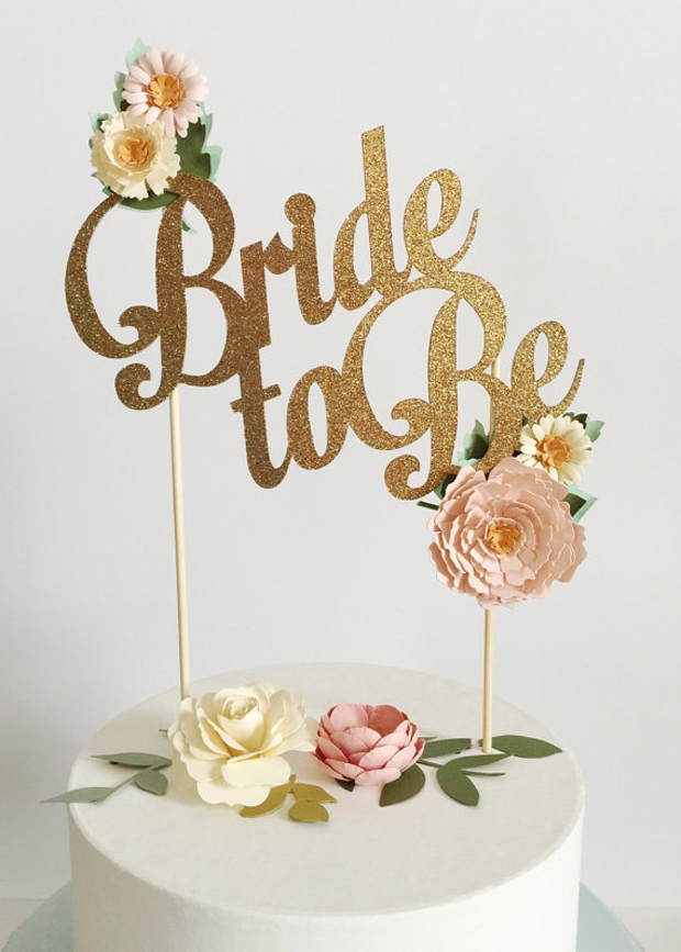 bride-to-be-cake-topper