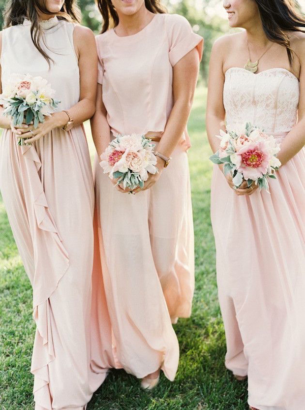 bridesmaids-in-separates-full-length-skirts