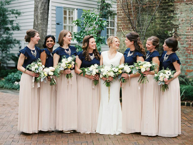 bridesmaids-in-separates-with-statement-necklaces
