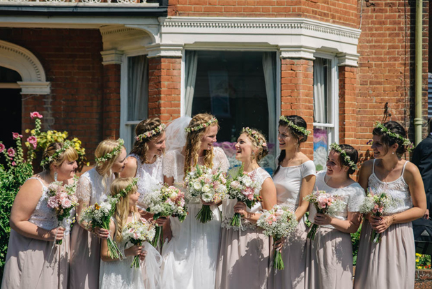 bridesmaids-in-skirts-and-lace-tops