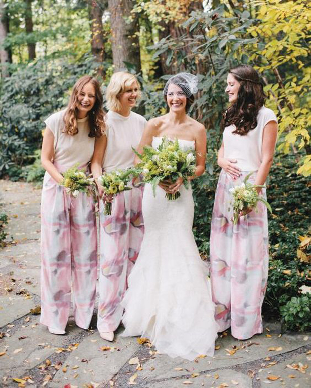 bridesmaids-separates-patterned-trousers