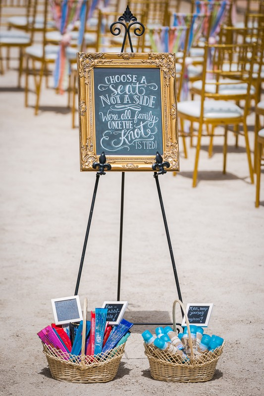 chalkboard-choose-seat-side-ceremony-sign-gold-frame-weddingsonline