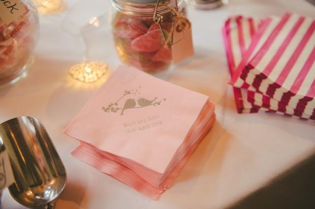 personalised-love-bird-napkins-wedding