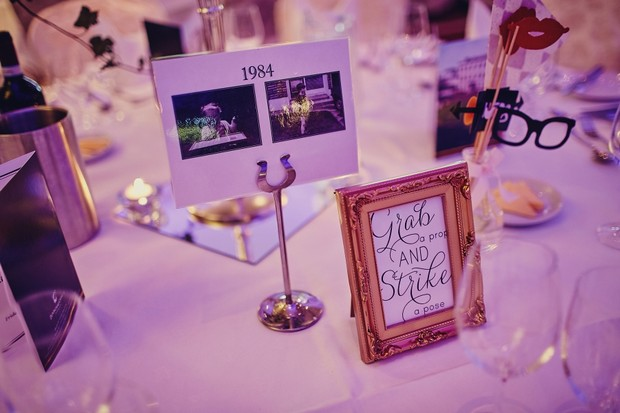photos-in-wedding-decor-special-dates-years-table-numbers