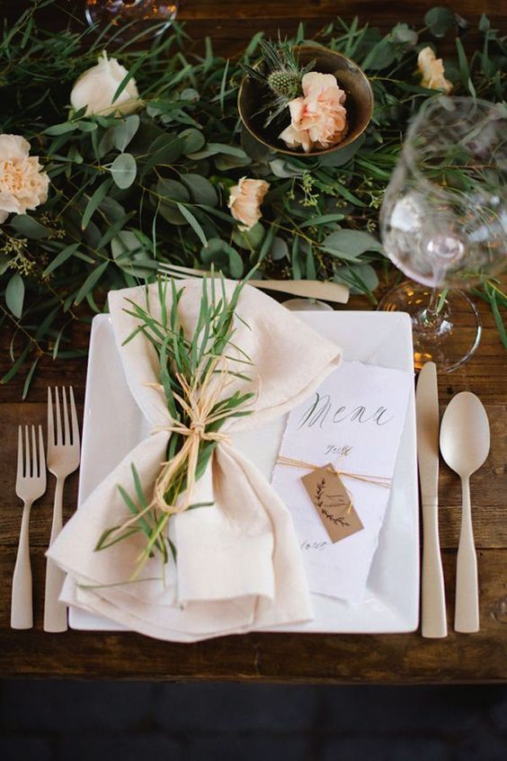 24 Fabulous Wedding Table Place Settings We 39 D Love To Sit