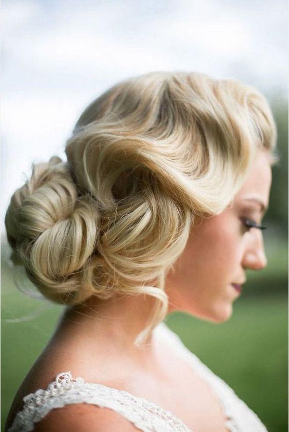 soft-vintage-wave-wedding-hair-style