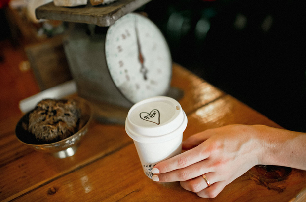 surprise-message-on-coffee-cup-wedding-morning