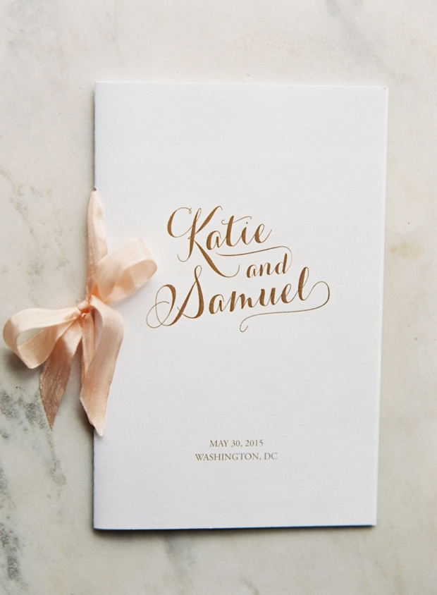 catholic wedding mass booklet template - 20 cute creative ways to use ribbon in your wedding