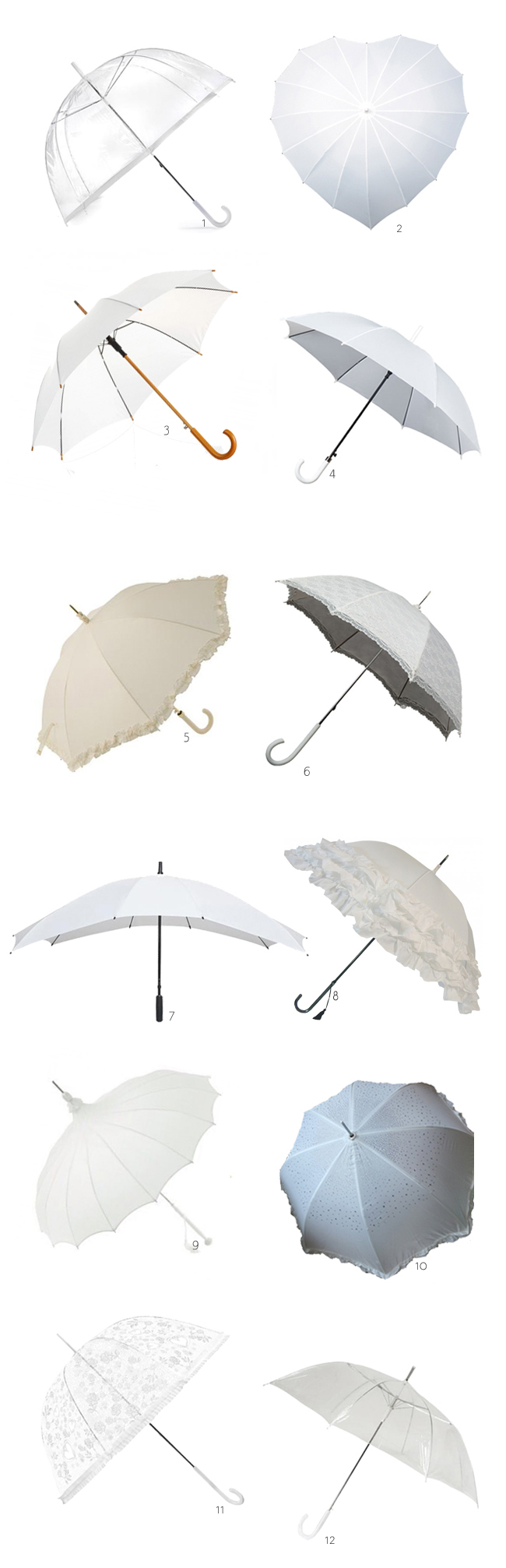 20 of the Best Wedding Umbrellas for Your Big Day | weddingsonline