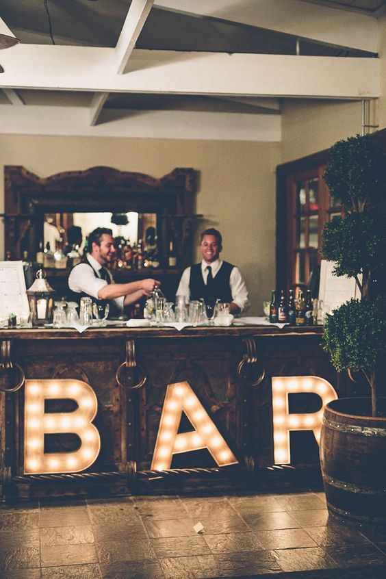 Unusual-Wedding-Lighting-Bar-Letters-Party