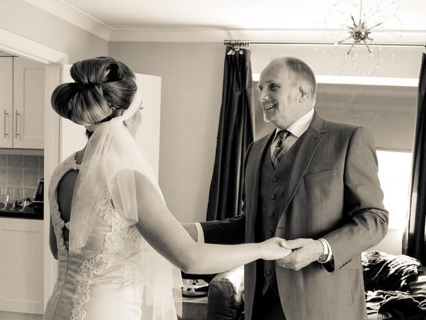 bellingham-castle-real-wedding-bride-with-dad