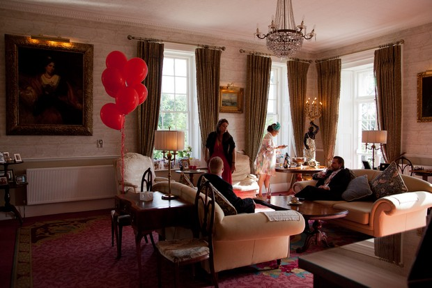 bellingham-castle-real-wedding-guests-drawing-room-drinks-reception