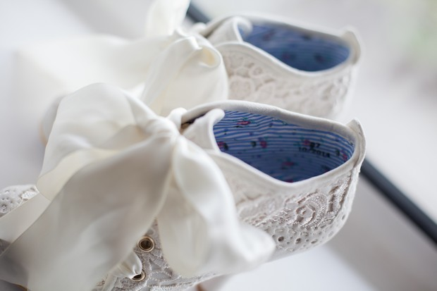bellingham-castle-real-wedding-lace-booties-wedding-shoes
