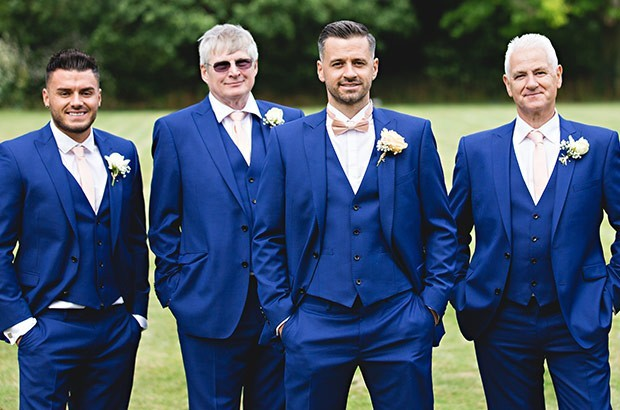 Blue Wedding Suits Moss Bros