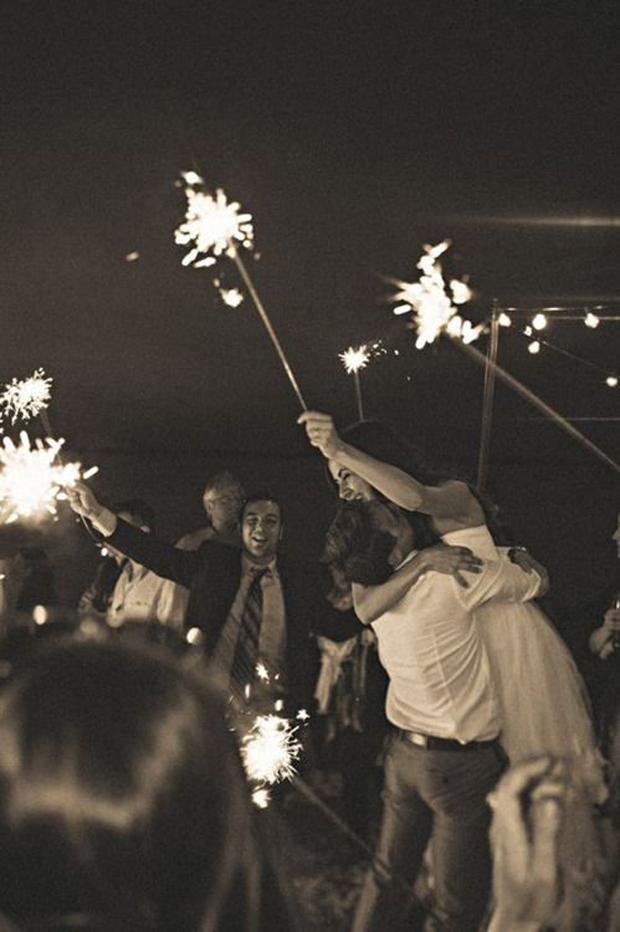 bride-and-groom-holding-sparklers