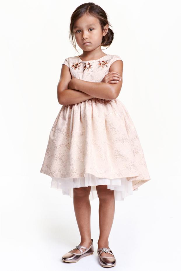 brocade-flower-girl-dress-h&m