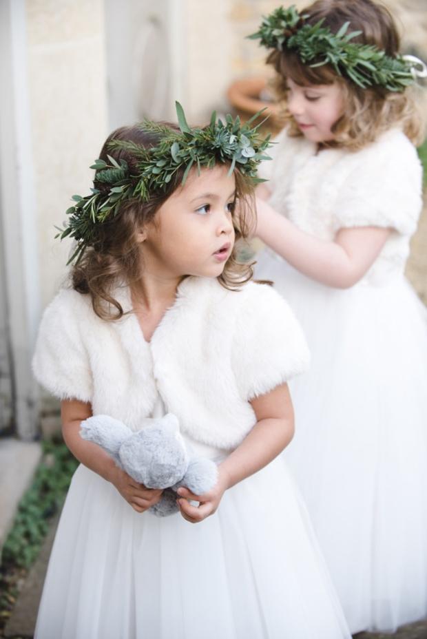 flower-girl-in-faux-fur-bolero