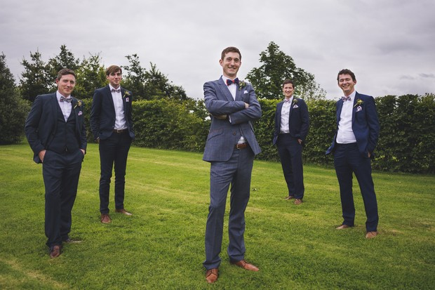 Stylish Wedding Suits for Grooms & Groomsmen (and Where to