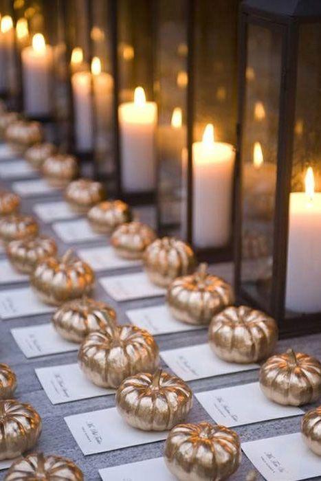 13 non naff halloween wedding ideas weddingsonline halloween wedding ideas gold mini pumpkins junglespirit Choice Image