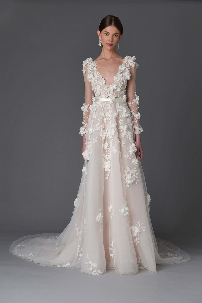marchesa-bridal-2017-collection-long-3d-floral-sleeves