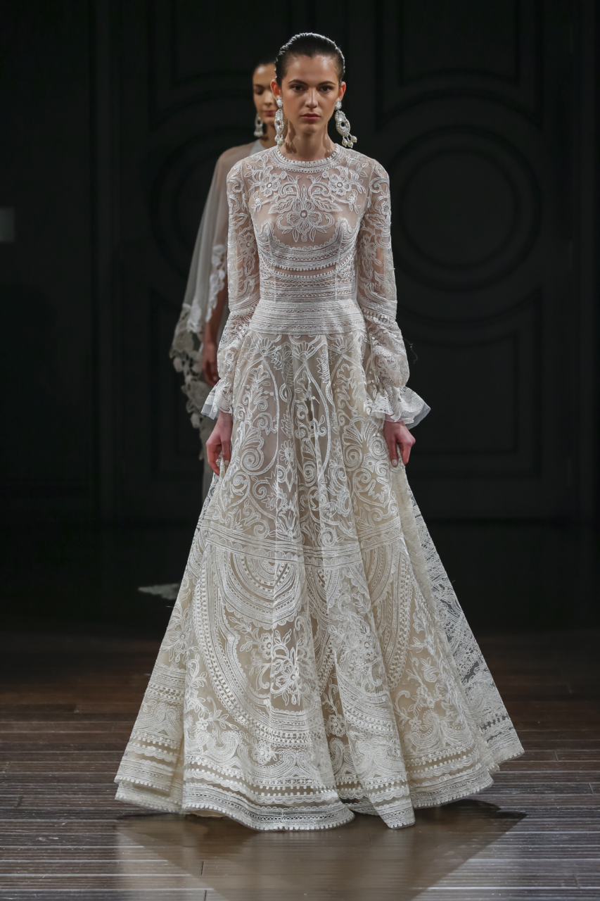 15 luscious long sleeve wedding dresses for 2017 With long sleeve wedding dresses 2017