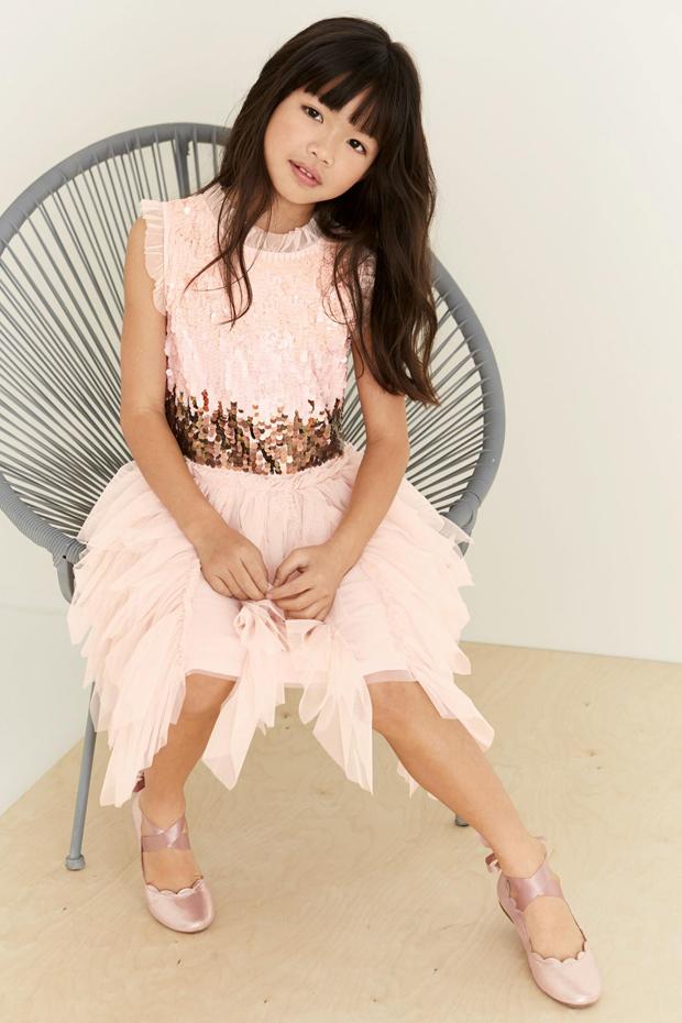pink-ruffle-sequin-flower-girl-dress-from-next