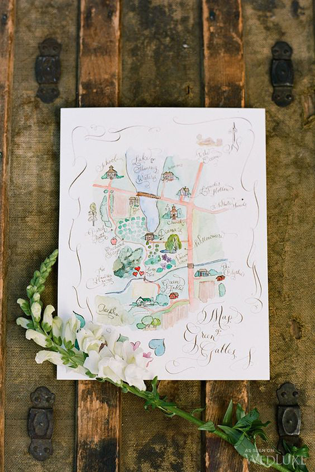 pretty-watercolour-wedding-map