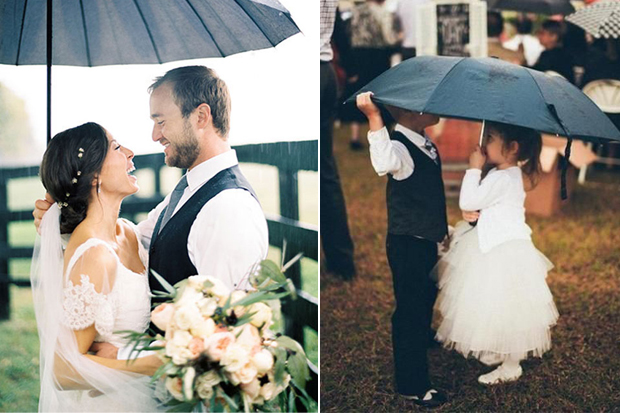 22 of the best rainy day wedding photos weddingsonline we live in ireland so the rain wedding day fear is quite a popular one nobody really dreams of a rain filled wedding day but living in the emerald isle junglespirit Choice Image