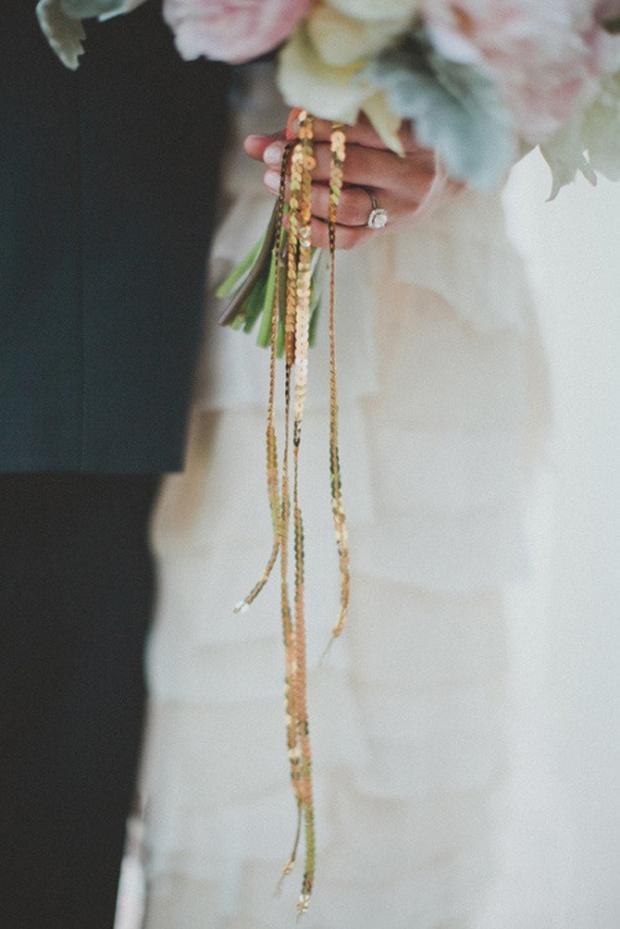 sequin-tie-wedding-bouquet