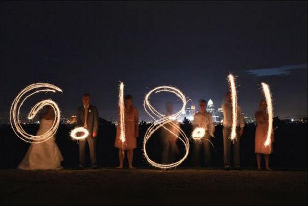 sparklers-wedding-date