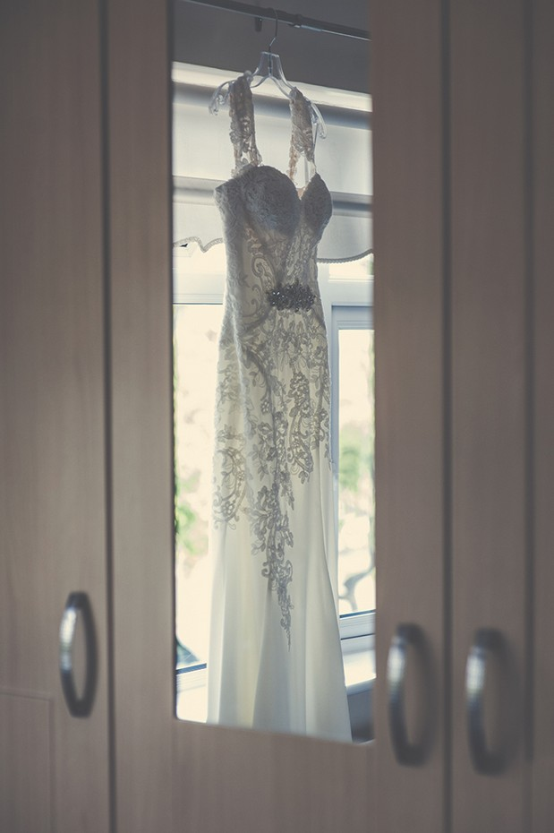 wedding-dress-hanging-on-wardrobe