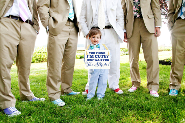 you-think-i'm-cute-just-wait-for-the-bride-wedding-sign