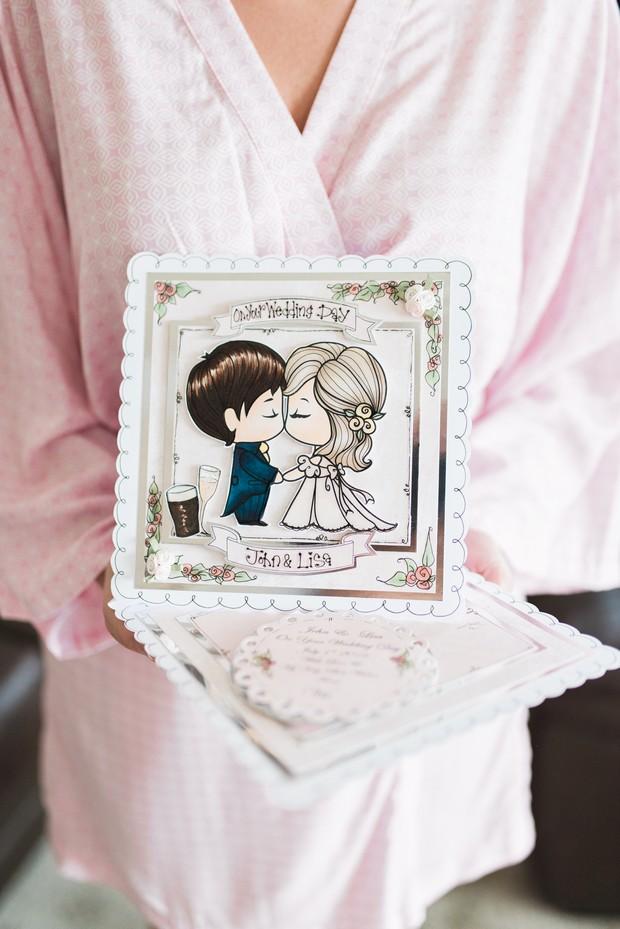 9-Personalised-Cartoon-Wedding-Card-Bride-Morning-weddingsonline