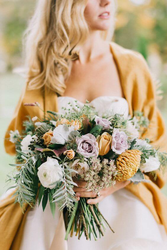 Lavender-Mustard-Autumn-Bouquet-Fall-Wedding-weddingsonline