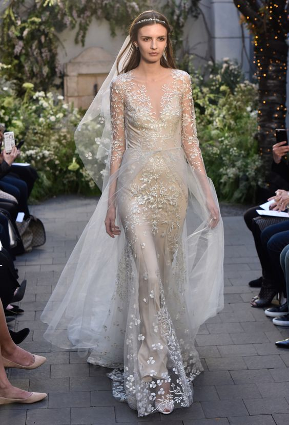 Winter Wedding Dresses Monique Lhuillier 2017 Weddingsonline