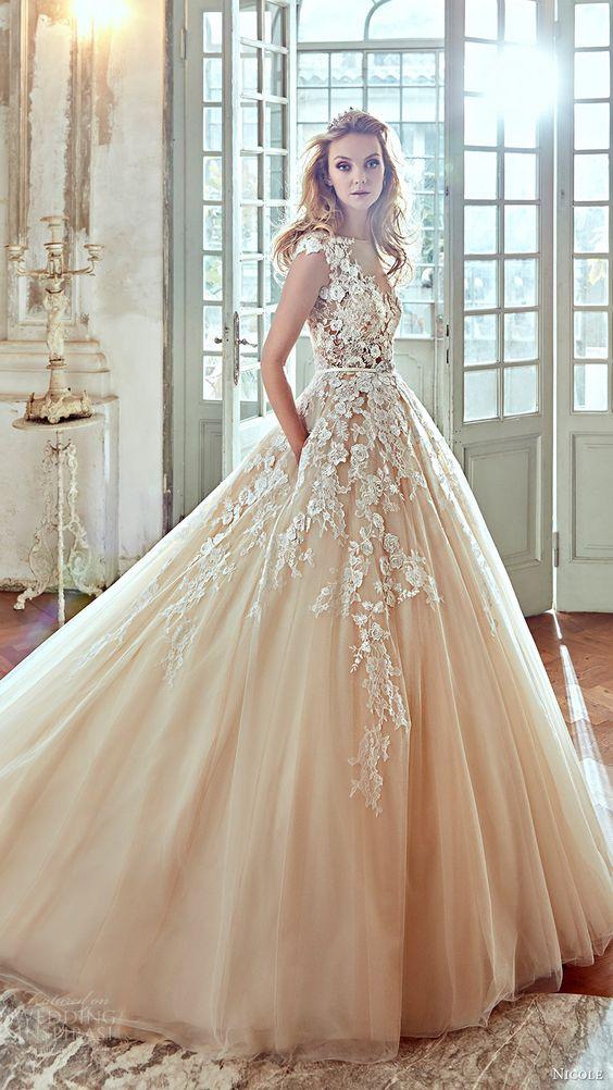 23 winter wedding dresses that wow weddingsonline winter wedding dresses nicole bridal 2017 weddingsonline junglespirit Gallery