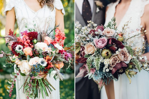 Wedding flowers wedding bouquets weddingsonline 10 awesome autumn wedding bouquets youll love junglespirit Image collections