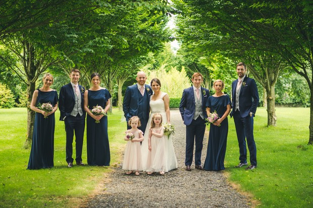 barberstown-castle-wedding-bridal-party