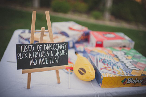 Board Wedding Fun Ideas