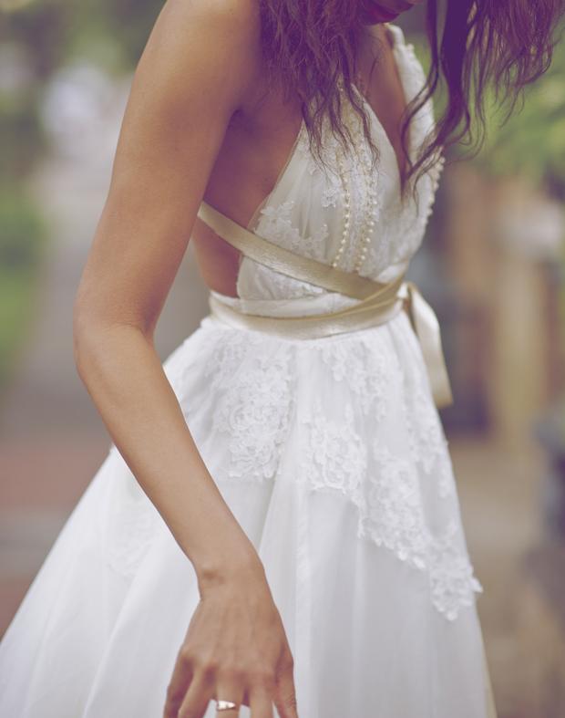 boho-wedding-dress-with-gold-ribbon-belt